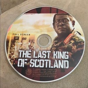 Other - the last king of scotland dvd
